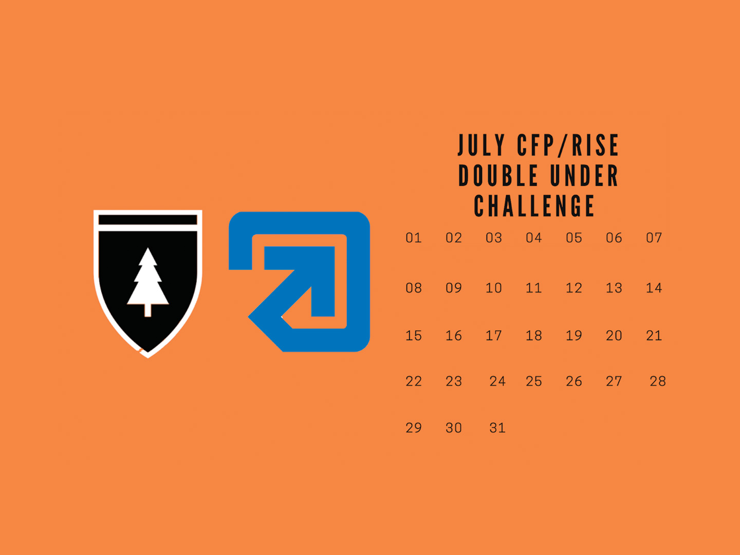 July Double Under Challenge
